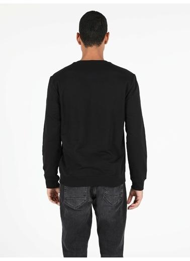 Colin's Regular Fit Erkek Siyah Sweatshirt Siyah